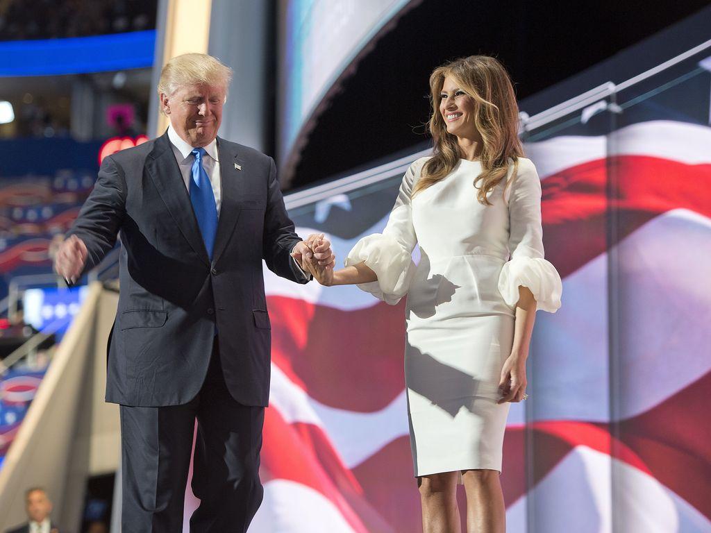 Melania Trump und Donald Trump