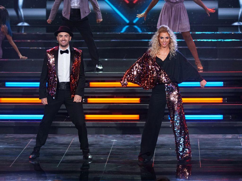 "Menderes und Aneta Sablik bei ""Dance Dance Dance"""