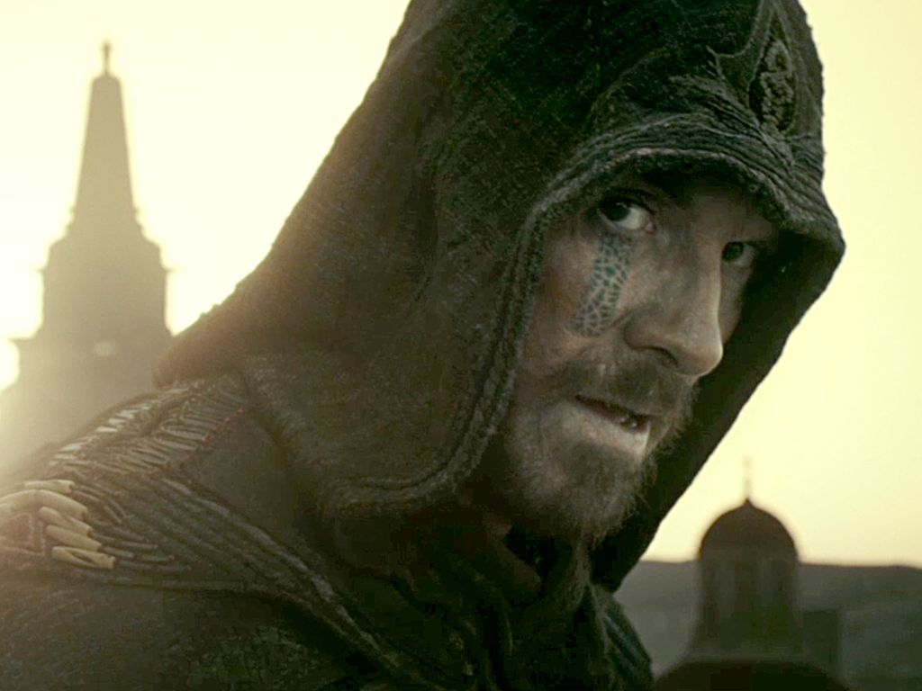 "Michael Fassbender in ""Assassin's Creed"""