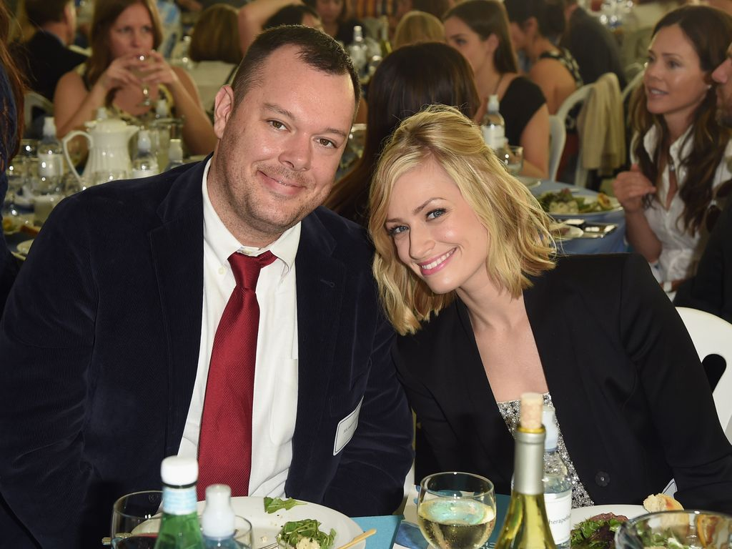 Michael Gladis und Beth Behrs in Hollywood