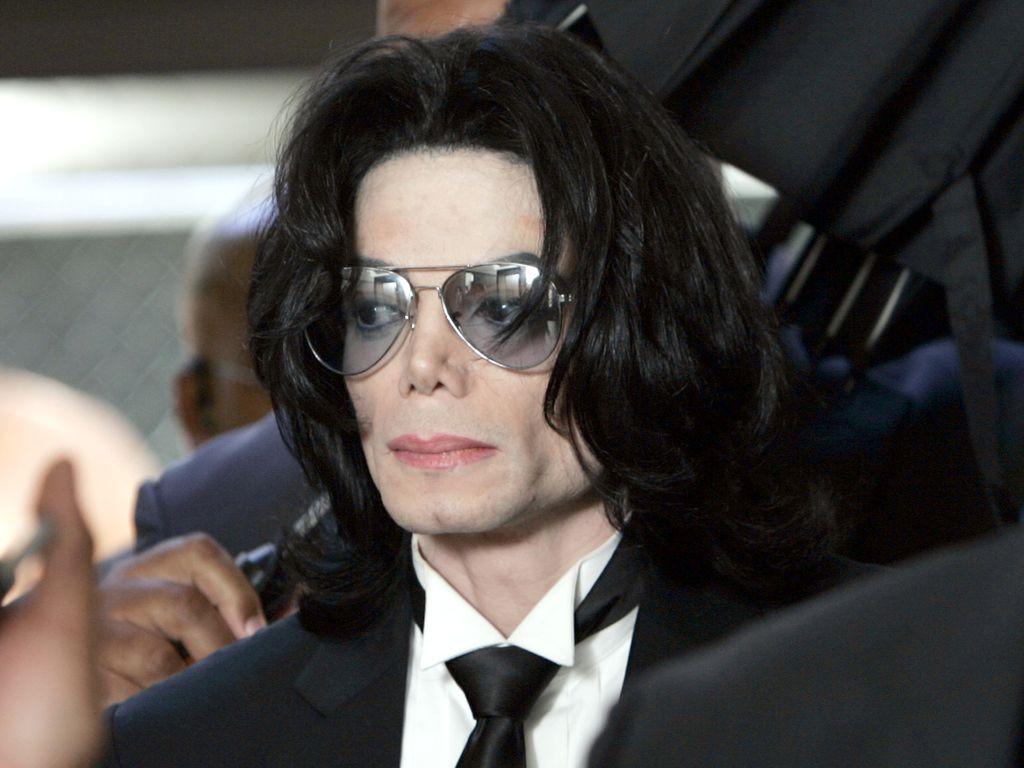Michael Jackson im Jahr 2005