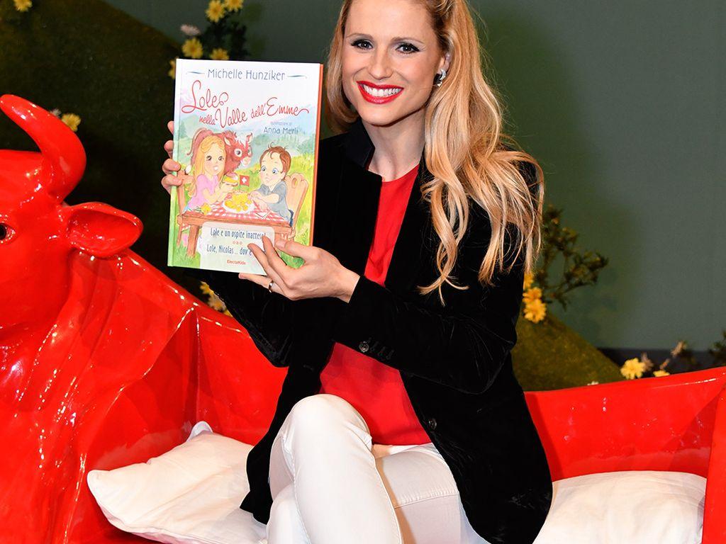 Michelle Hunziker promotet ihr erstes Kinderbuch