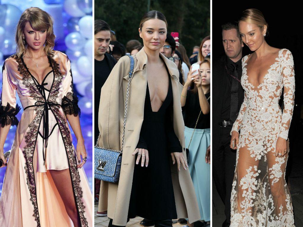 Taylor Swift, Miranda Kerr und Candice Swanepoel