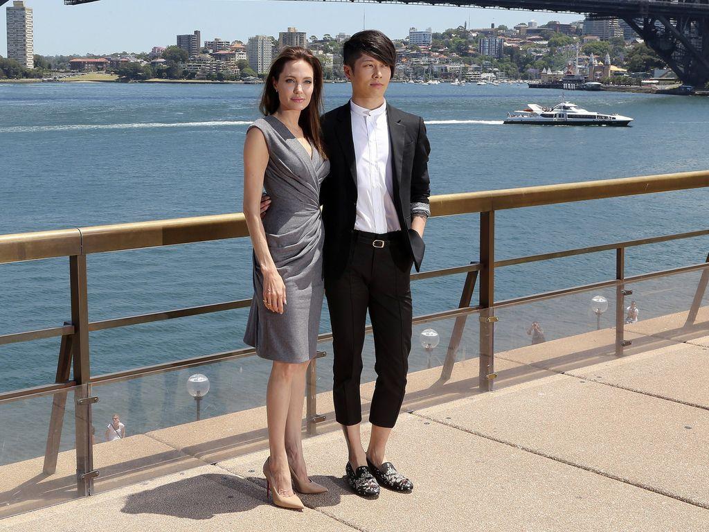 Angelina Jolie und Miyavi