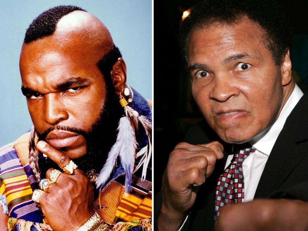 Muhammad Ali und Mr. T