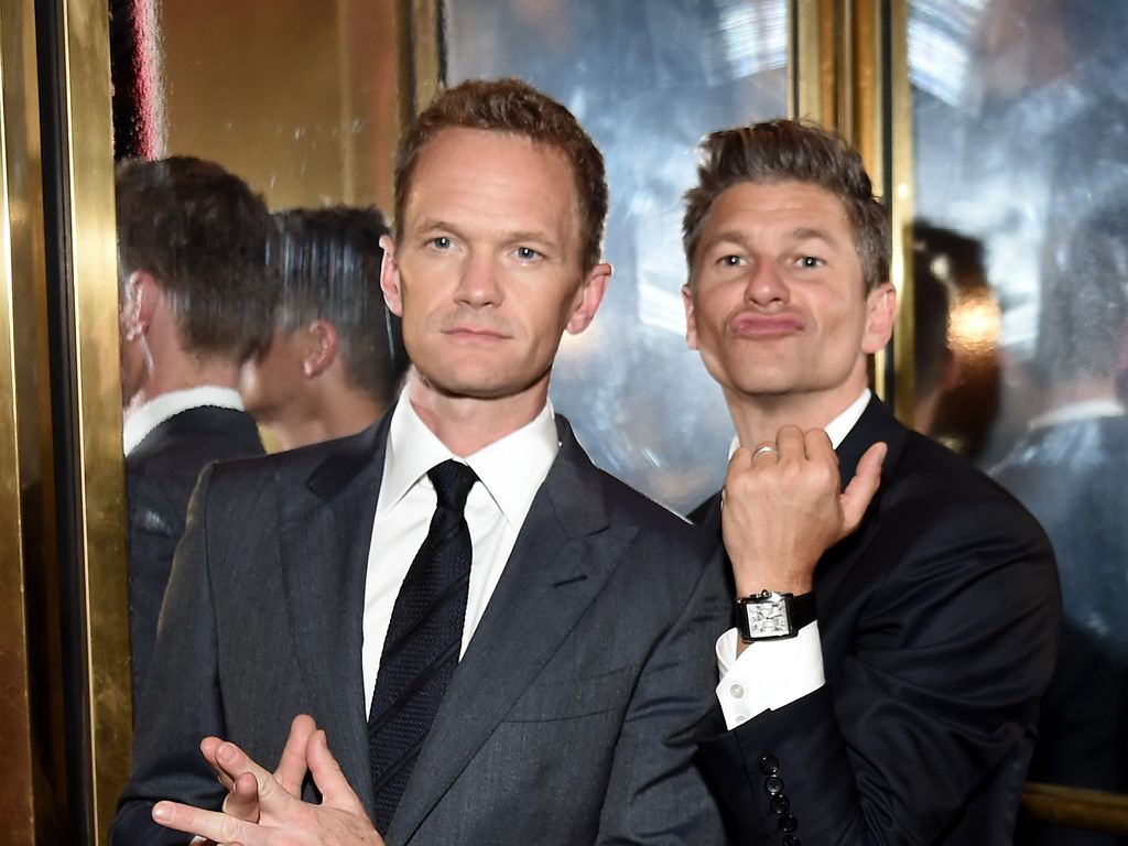 Neil Patrick Harris und sein Ehemann David Burtka in New York City