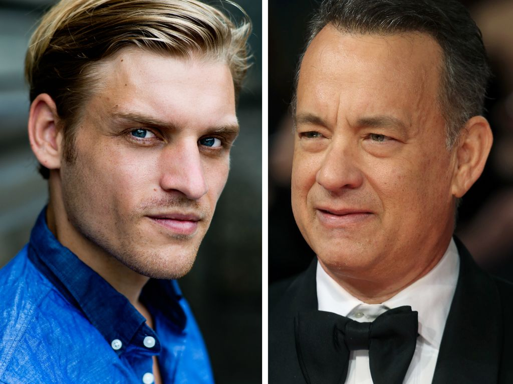 Tom Hanks und Nico Ehrenteit