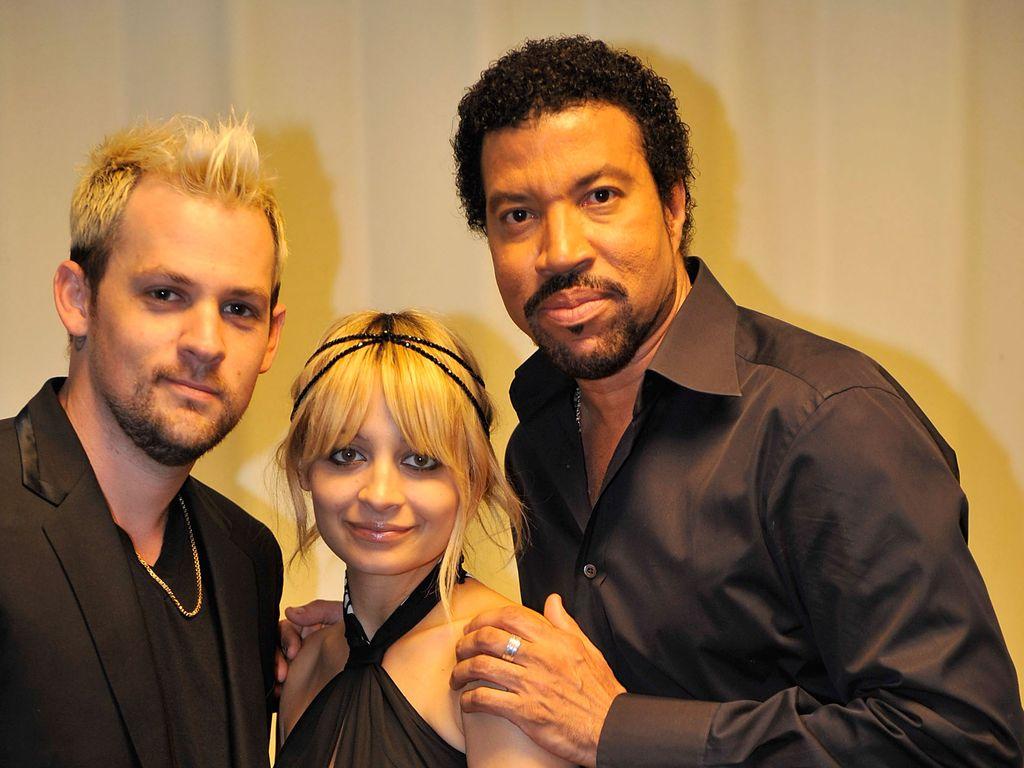 Nicole Richie, Joel Madden und Lionel Richie
