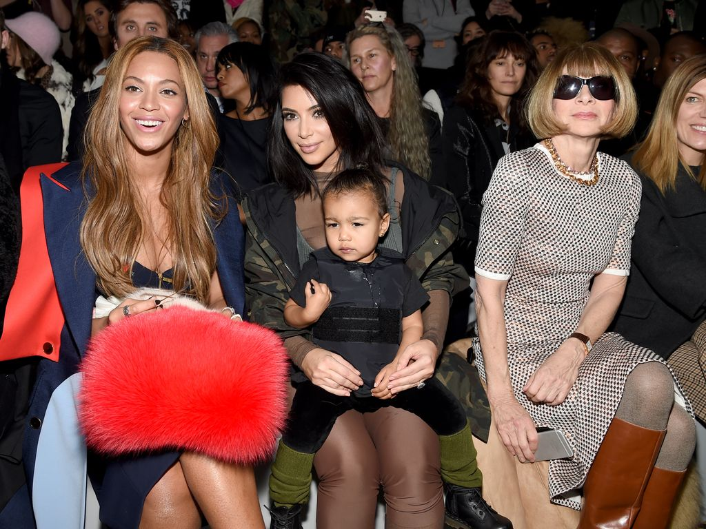 North West und Anna Wintour