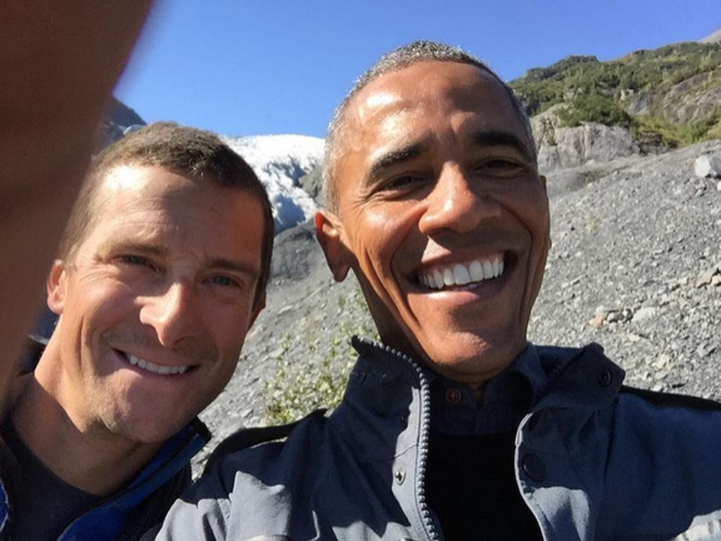Barack Obama und Bear Grylls