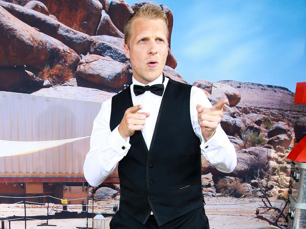 "Oliver Pocher bei der Preview von ""Global Gladiators"""