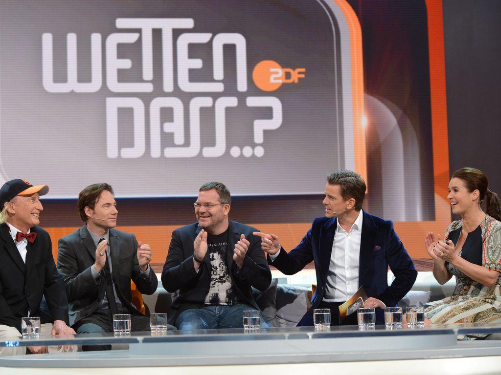 Elton, Bully Herbig, Katarina Witt und Otto Waalkes