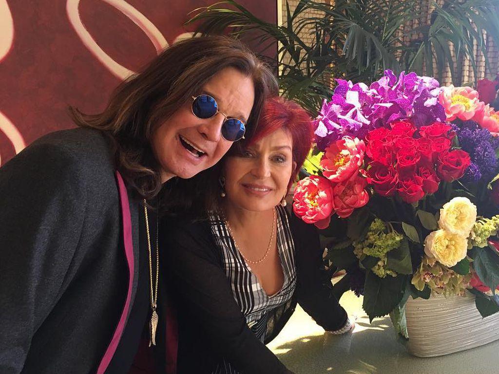 Ozzy Osbourne mit Ehefrau Sharon