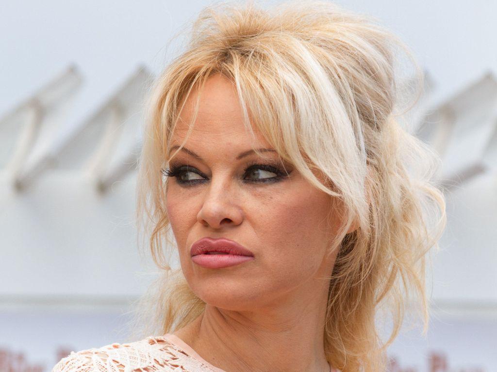 Pamela Anderson bei den Festspielen in Cannes