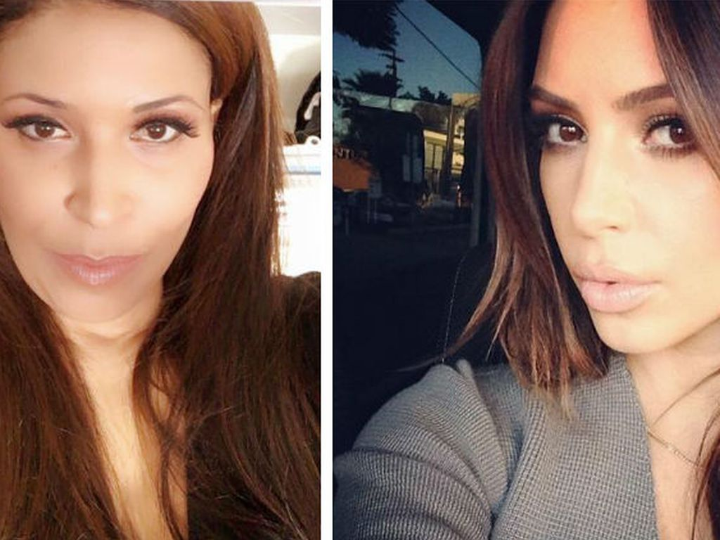 Patricia Blanco und Kim Kardashian