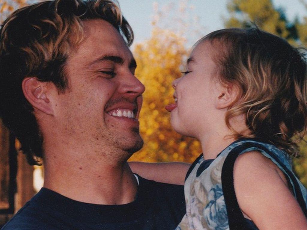 Paul Walker mit seiner Tochter Meadow