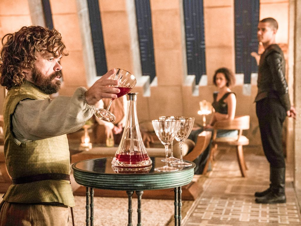"Peter Dinklage, Jacob Anderson und Nathalie Emmanuel bei ""Game of Thrones"""
