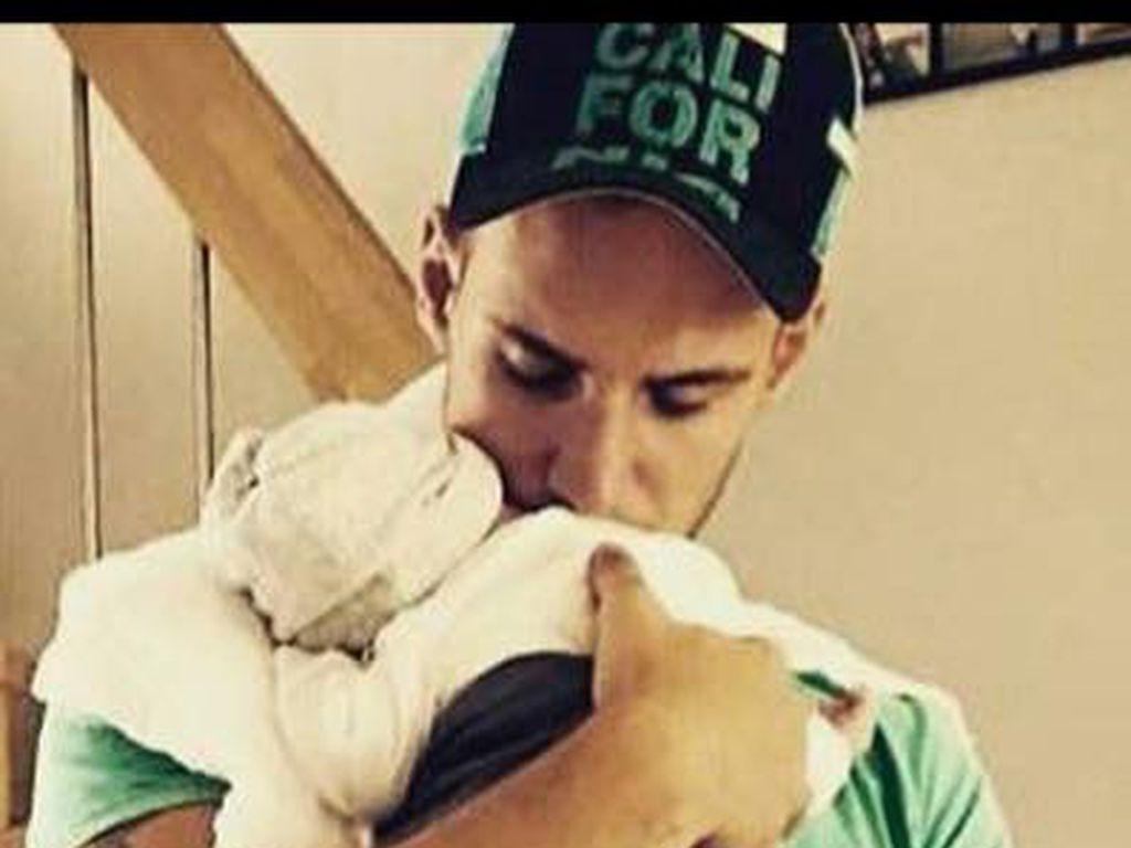Pietro Lombardi mit Söhnchen Alessio als Baby