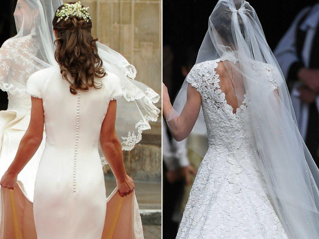 Pippa Middleton 2011 und 2017