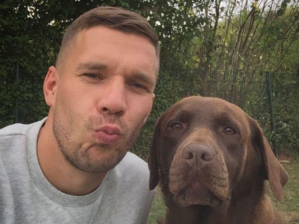 """Poldi und sein """"bester Freund"""""""