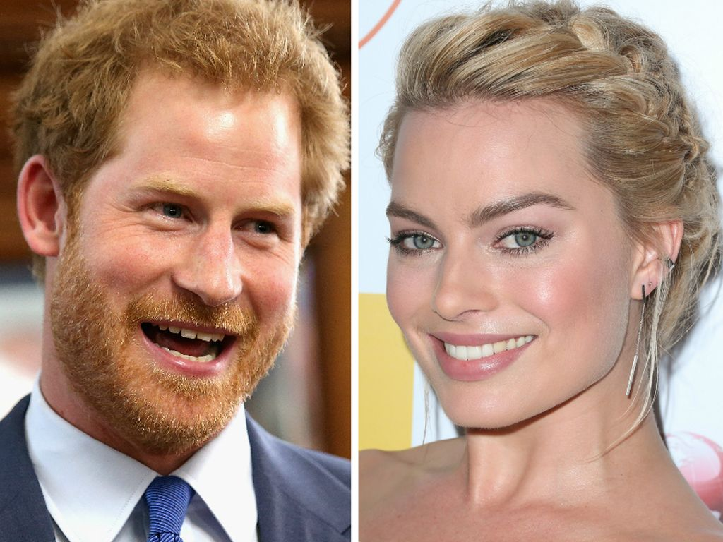 Prinz Harry und Margot Robbie