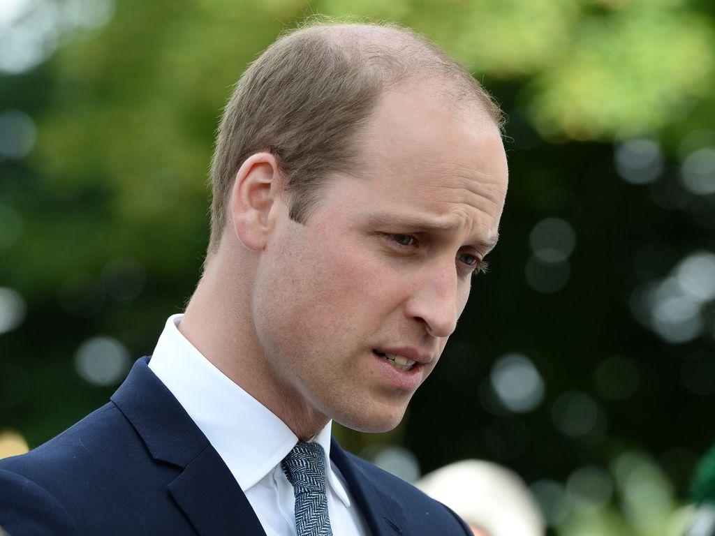 Prinz William in Belfast, Nordirland