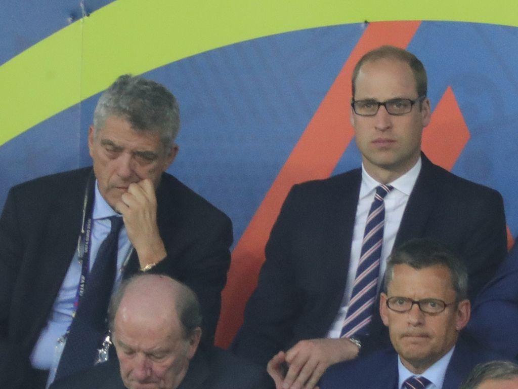 Prinz William bei dem EM-Spiel zwischen England und der Slowakei