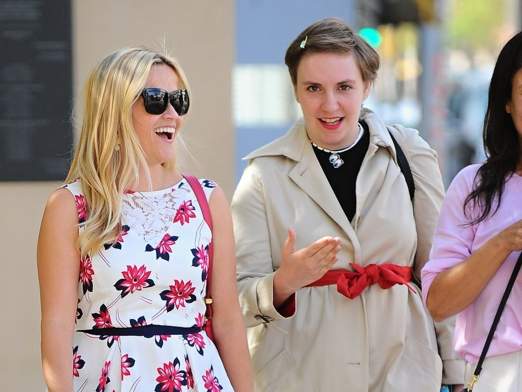 Lena Dunham und Reese Witherspoon