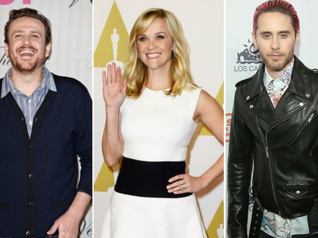 Reese Witherspoon, Jared Leto und Jason Segel