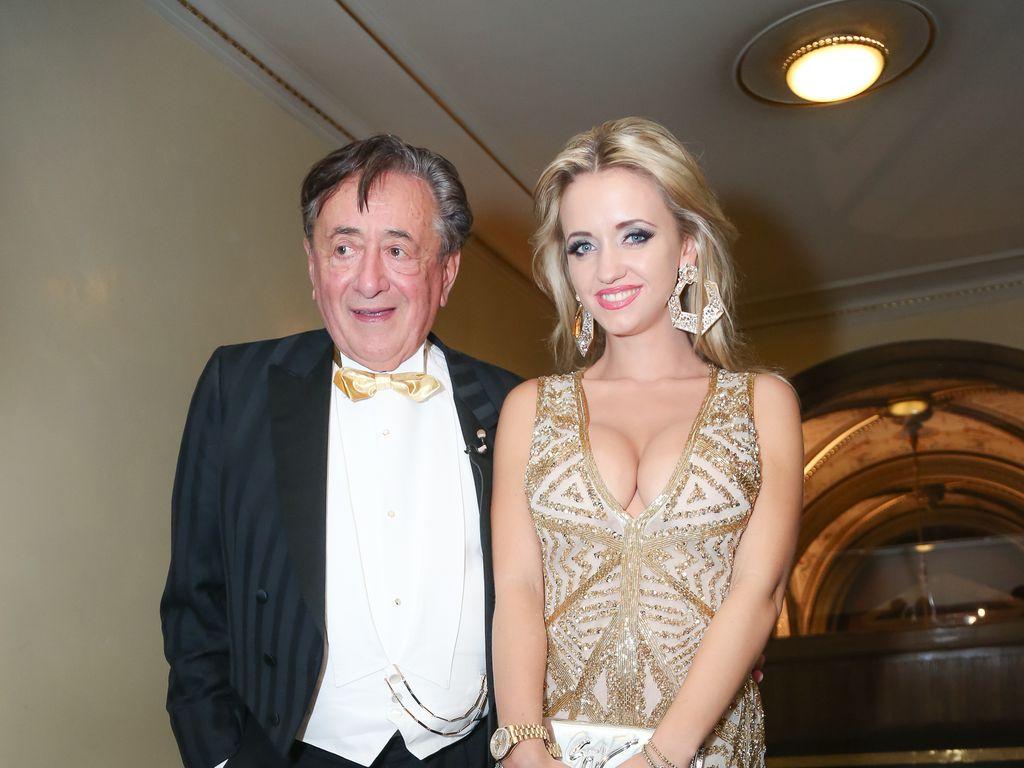 Richard und Cathy Lugner beim Wiener Opernball 2015
