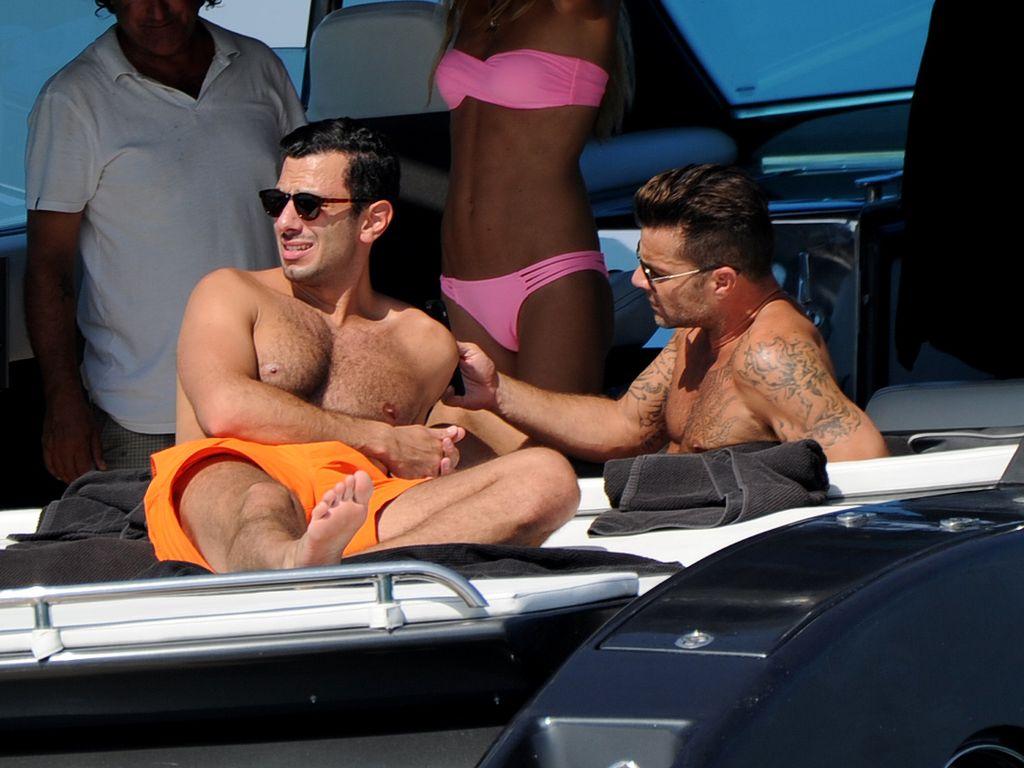 Ricky Martin im Urlaub mit seinem Freund Jwan Yosef auf Ibiza