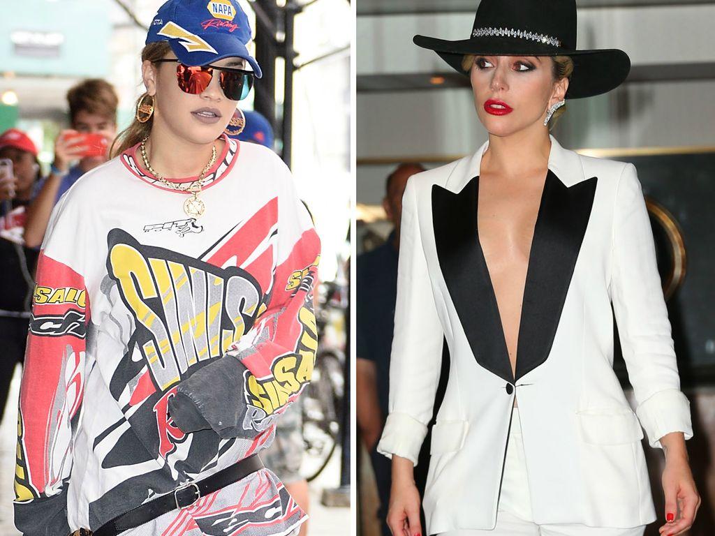 Rita Ora und Lady GaGa