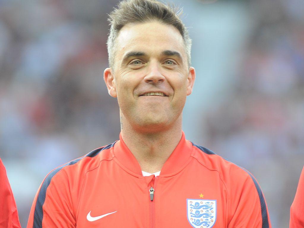 """Robbie Williams beim """"Soccer Aid""""-Event für UNICEF 2016"""