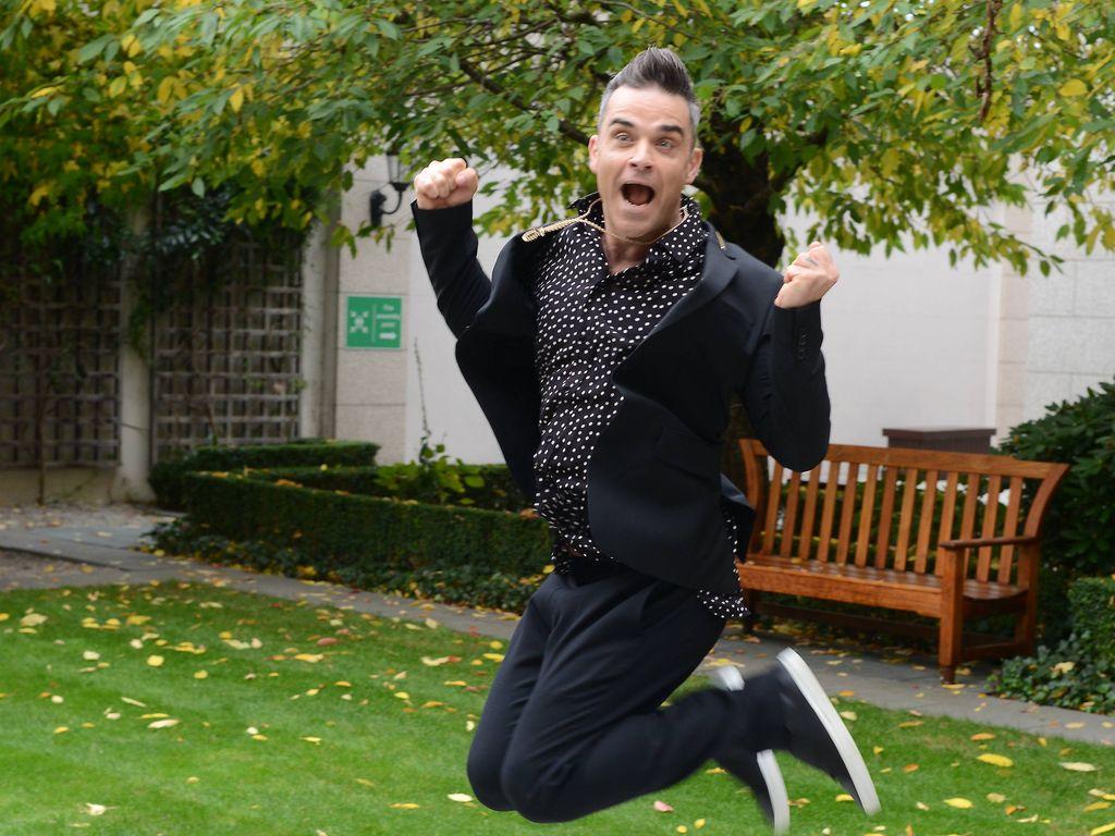 Robbie Williams beim InterContinental in Dublin