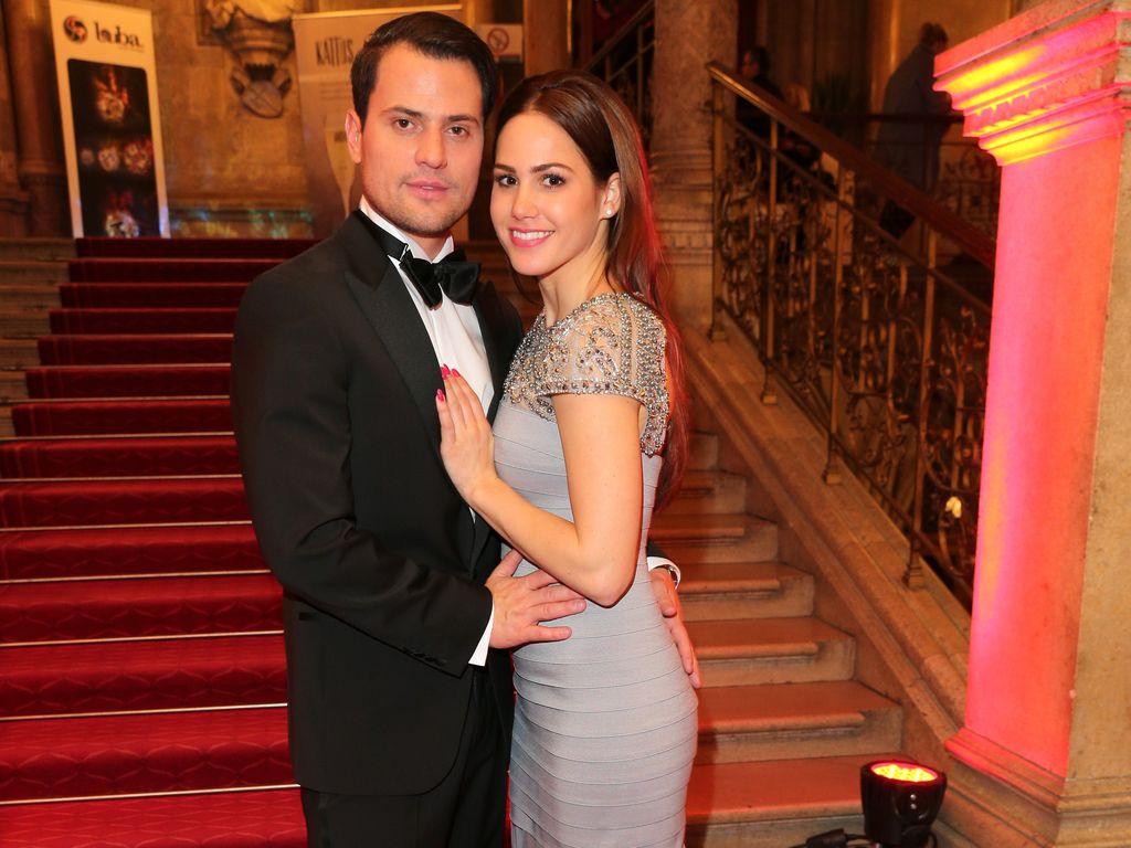 Rocco Stark und Angelina Heger beim Wiener Filmball