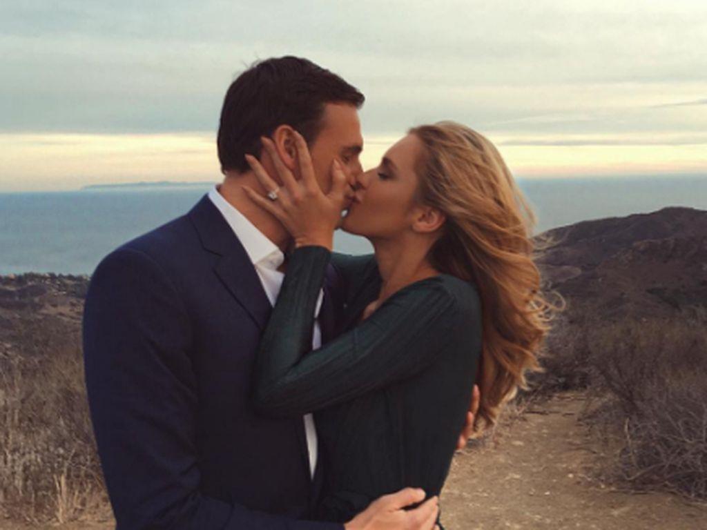 Ryan Lochte und seine Verlobte Kayla Rae Reid in LA