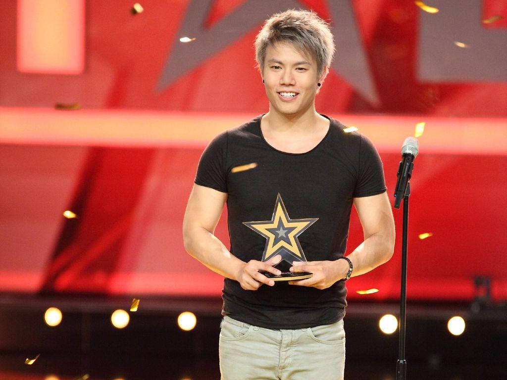 "Sae-Hun Jay Oh bei ""Das Supertalent"""