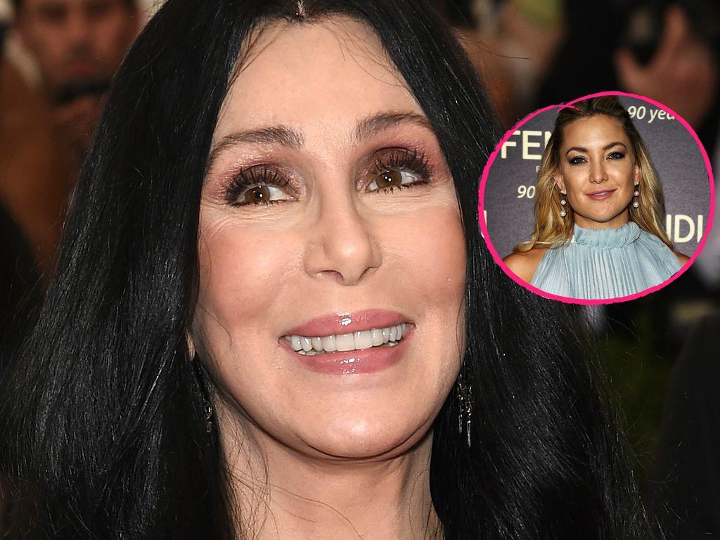Sängerin Cher und Schauspielerin Kate Hudson