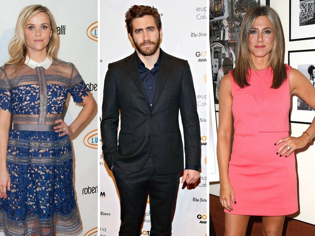Jennifer Aniston, Reese Witherspoon und Jake Gyllenhaal
