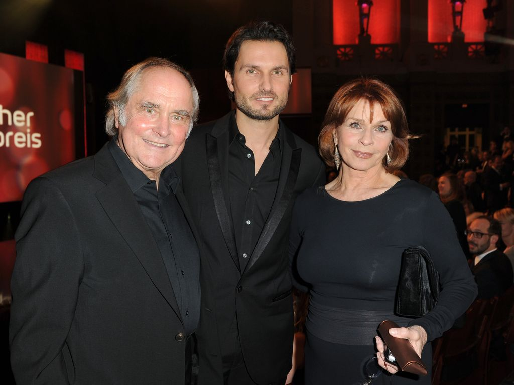 Senta Berger, Simon Verhoeven und Michael Verhoeven 2012 in München