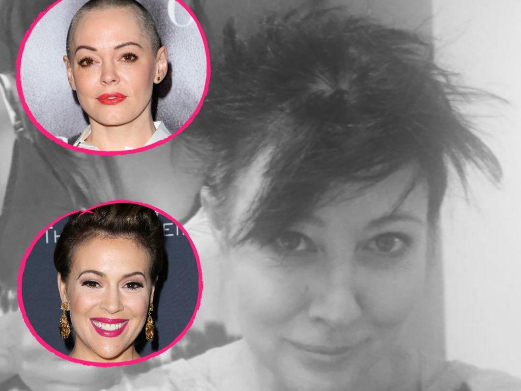 Shannen Doherty, Rose McGowan und Alyssa Milano