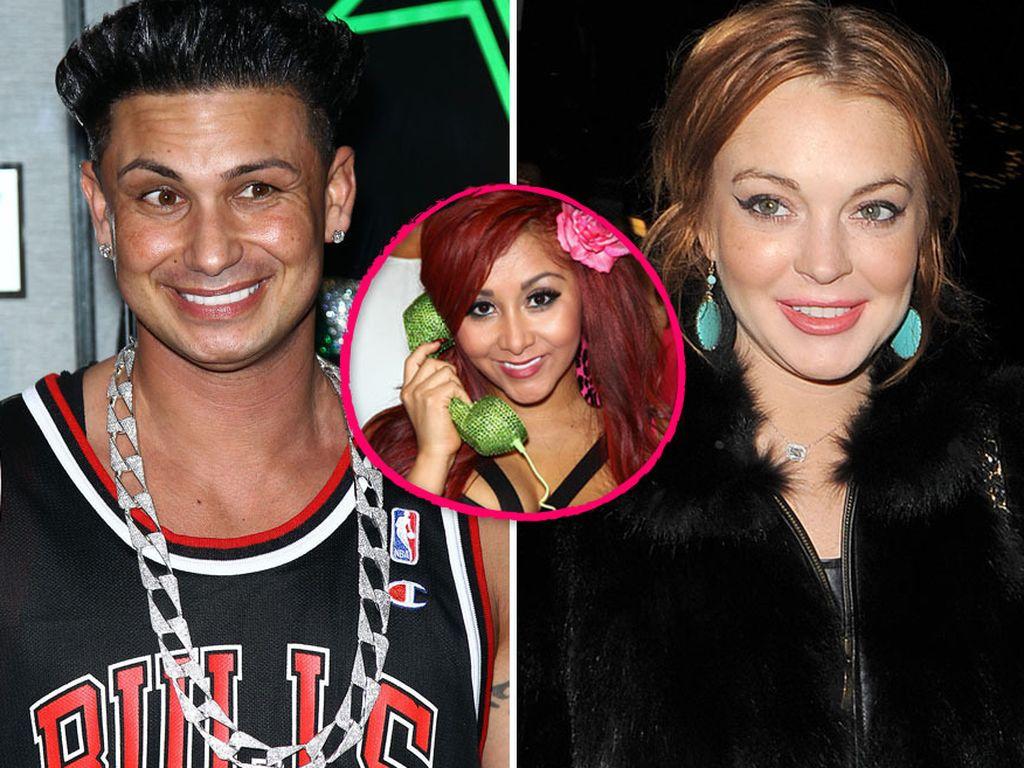 Lindsay Lohan, Snooki und DJ Pauly D