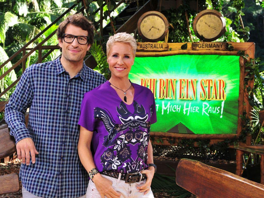 Daniel Hartwich und Sonja Zietlow im Dschungelcamp