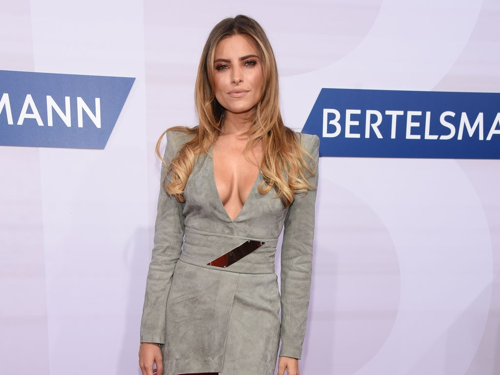Sophia Thomalla bei der Bertelsmann-Party