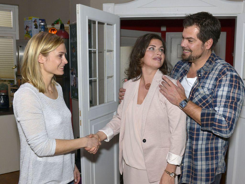 Anne Brendler, Daniel Fehlow und Lea Marlen Woitack