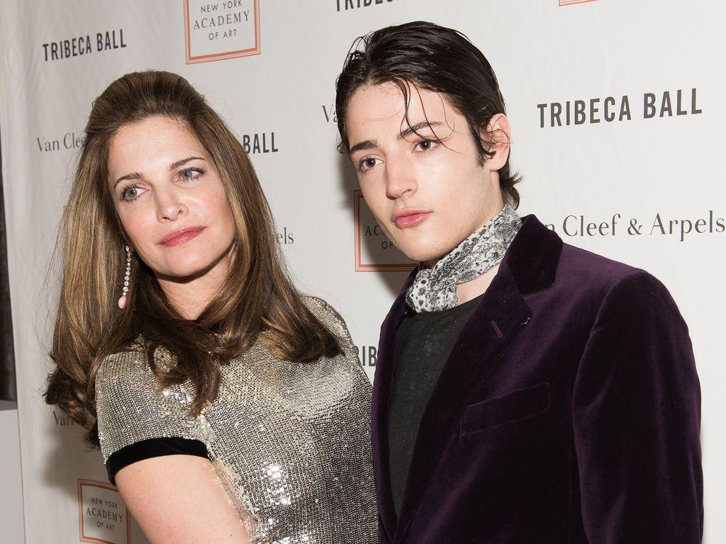 Stephanie Seymour und ihr Sohn Harry Brant