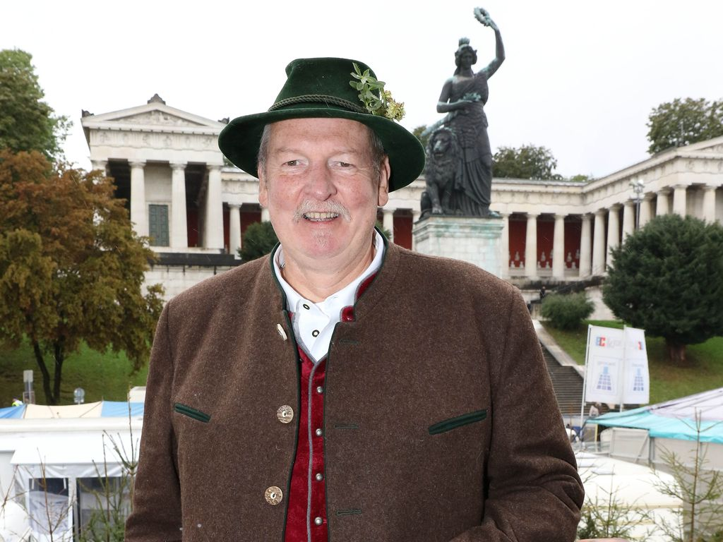 Tamme Hanken beim Oktoberfest in München