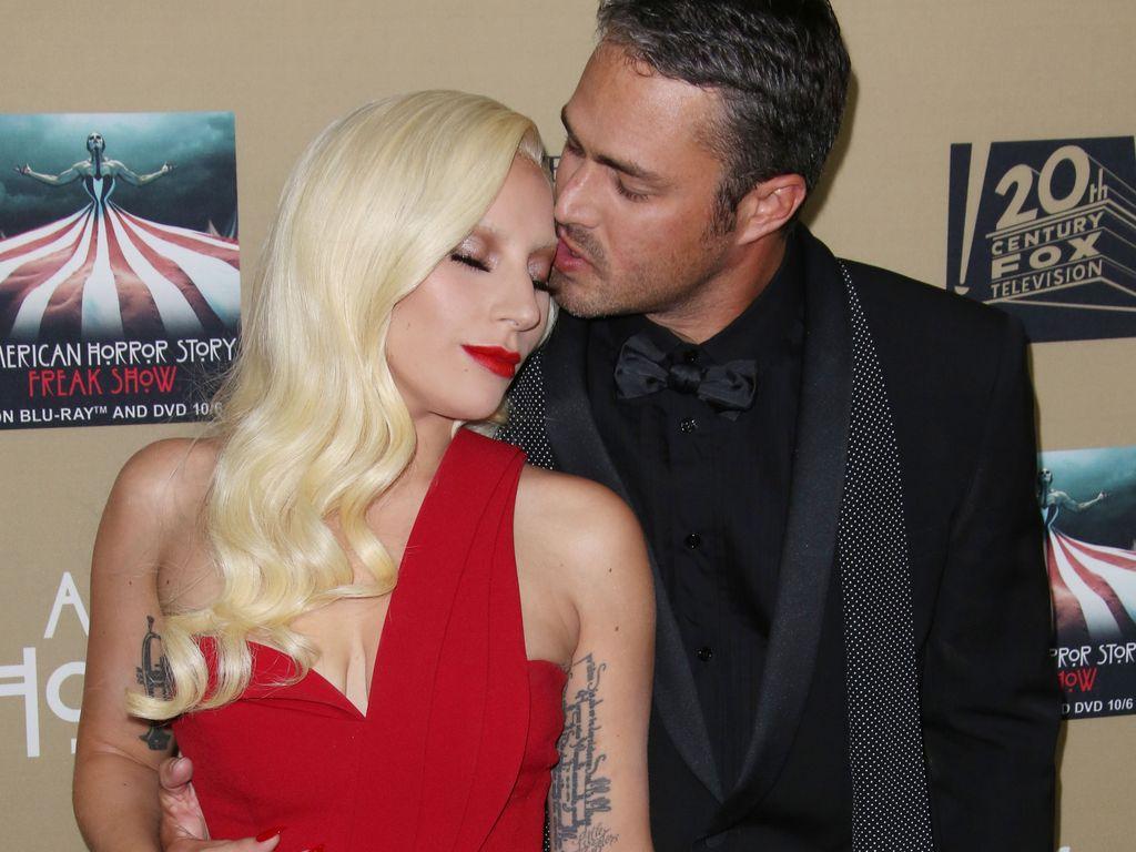 """Lady GaGa und Taylor Kinney bei der """"American Horror Story""""-Premiere"""