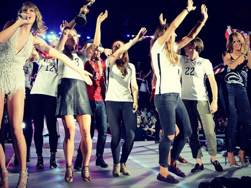 Taylor Swift und Heidi Klum