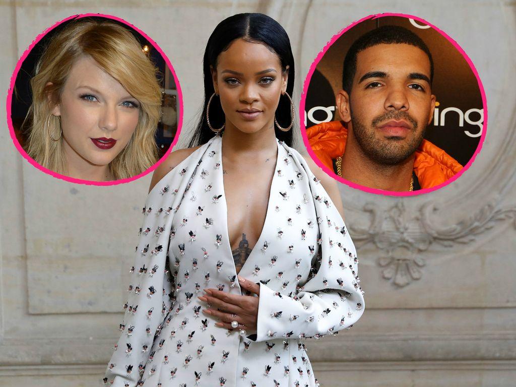 Taylor Swift, Rihanna und Drake